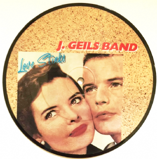 "J. Geils Band ‎- Love Stinks/Till The Walls Come Tumblin' Down (7"") (Picture Disc) (VG+/NM)"